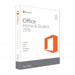 Microsoft Office Home & Student 2016 - Mac