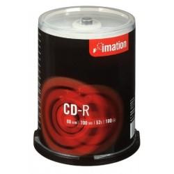 Imation CD-R, 52x, 700MB, 100 CD Pack