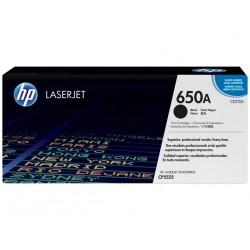 HP 650A Black LaserJet Toner