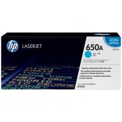 HP 650A Cyan LaserJet Toner